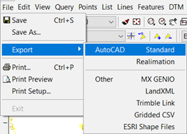 n4ce Code Table and Feature Plotting – AppsinCadd